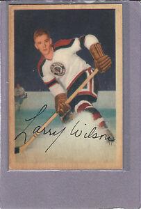 1953-54-PARKHURST-74-LARRY-WILSON-CHICAGO-BLACK-HAWKS