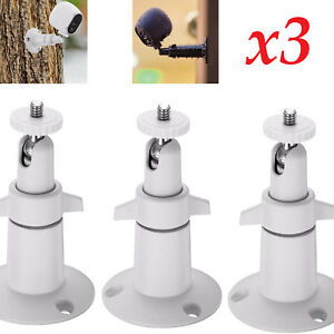 3-Pack Indoor//Outdoor Cameras Wall Mount Stand Bracket For Arlo Pro 2 Security