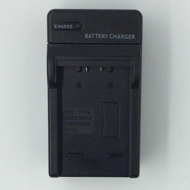 CA portátil cargador de batería para PANASONIC Lumix DMC-FZ5 FZ5S FZ10 FZ50 Cámara