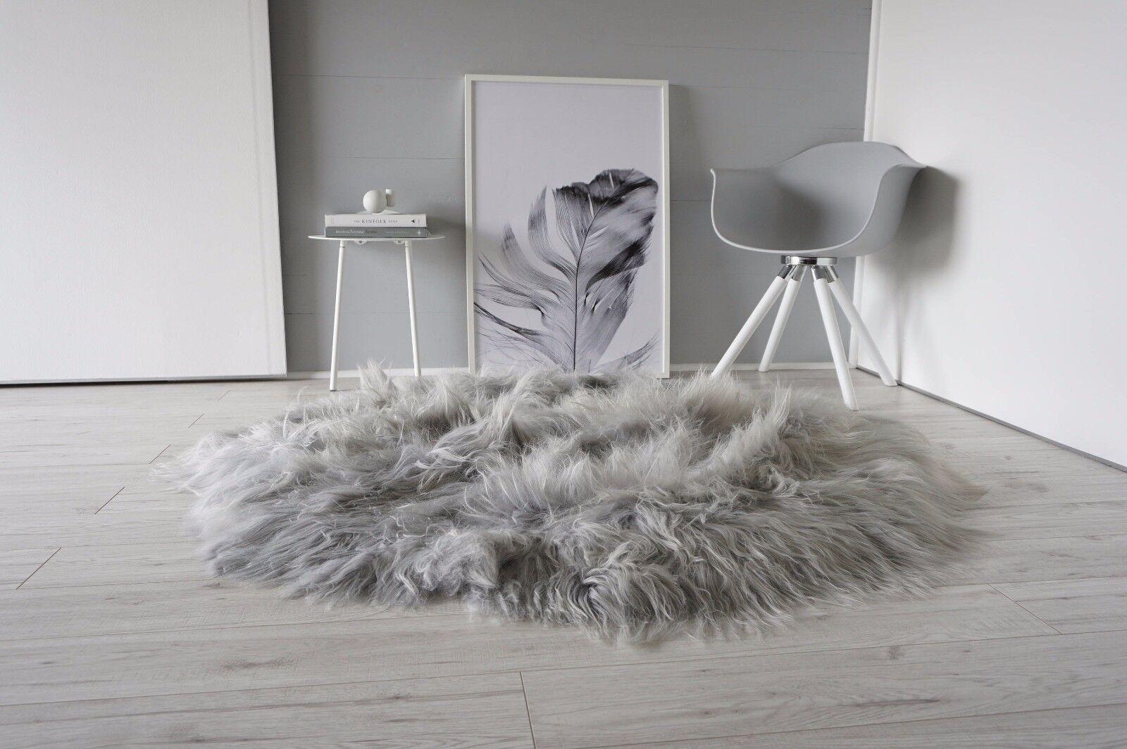 Dyed Grey Silver Ash Tan