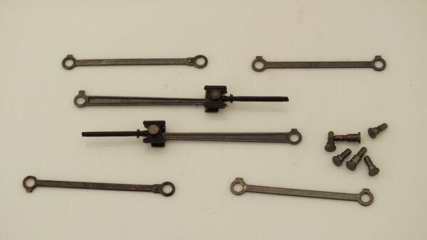 100% De Qualité X8757 # Hornby Triang Complete Set Valve Gears & Conrods Castle Class J5b