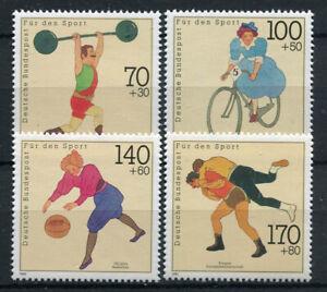 Deutschland-1991-Mi-1499-1502-Postfrisch-100-sport