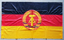 ORIGINAL VINTAGE EX-ARMY DDR GDR EAST GERMAN FLAG COLD WAR WARSAW PACT 60x100