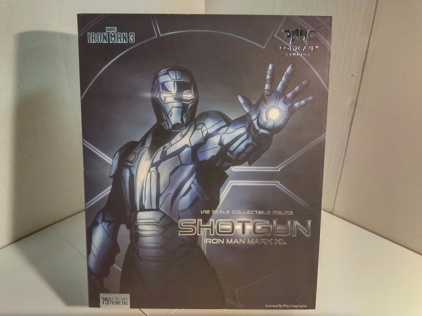 Shotgun Iron Man Mark XL 1 12 Scale Collectible Figure - Comicave Studios (2016)