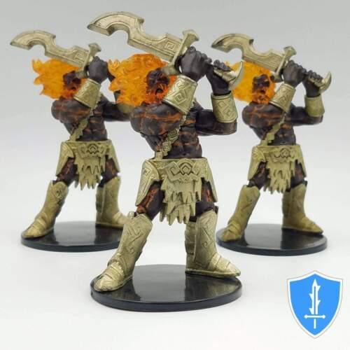Legendary Adventures #28 Pathfinder Battles D/&D Miniature Fire Giant x3