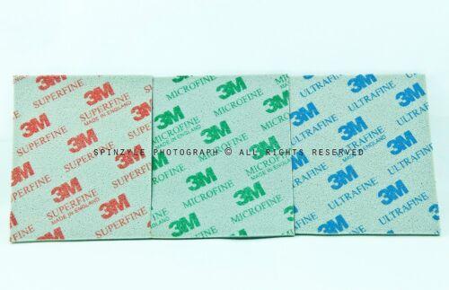 1FOR3 3M Sponge Dry Wet Sandpaper P500,800,1200 PLASTIC MODEL GUNDAM CRAFT TOOLS