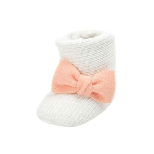 Newborn Baby Girl Winter Cotton Shoes Toddler First Walkers Shoes New