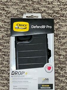 OTTERBOX Defender Pro Series Case for iPhone 12/ 12 Pro Black