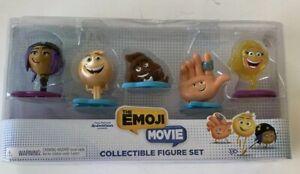 New-Emoji-Film-Collectible-Figures-Set-Gene-caca-Beaute-Jailbreak-Hi5