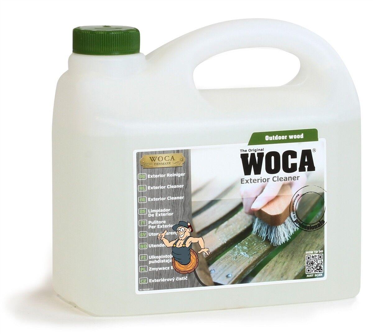 2,5L WOCA Exterior Cleaner (Außenholzreiniger)