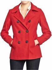 Old Navy Wool Blend Peacoat Plus Coats &amp Jackets for Women | eBay
