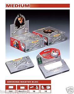 SMOKING 200 Master. 20 LIBRITOS. papel de liar fumar, rolling paper.