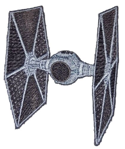 Star Wars Tie Fighter Ship Embroidered Patch