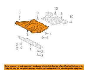 image is loading lexus-toyota-oem-07-09-rx350-splash-shield-