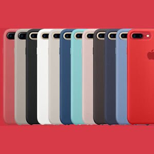 Authentique Coque en silicone étui housse pour Apple iPhone 7/7 Plus Boxed