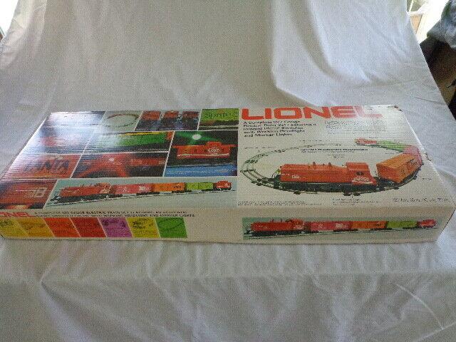 Nuevo En Caja Lionel 027 Coca Cola listos para ejecutarse Train Conjunto de 1974