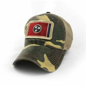Tennessee-Flag-Patch-Trucker-Hat-Camouflage