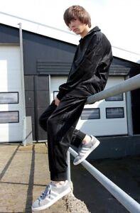 Details about MEDIUM FULL TRACKSUIT Adidas Originals Mens Challenger Velour Top & Pants CLR84