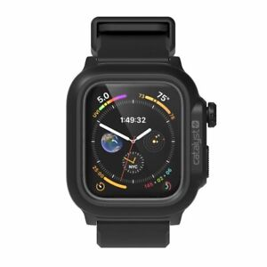 Catalyst 44mm Waterproof Band Case/Cover for Apple Watch Series 4/5/6/SE BK