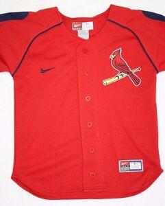 1f6d8653 NEW Infant Toddler Kids NIKE St Louis CARDINALS Red Baseball MLB Jersey
