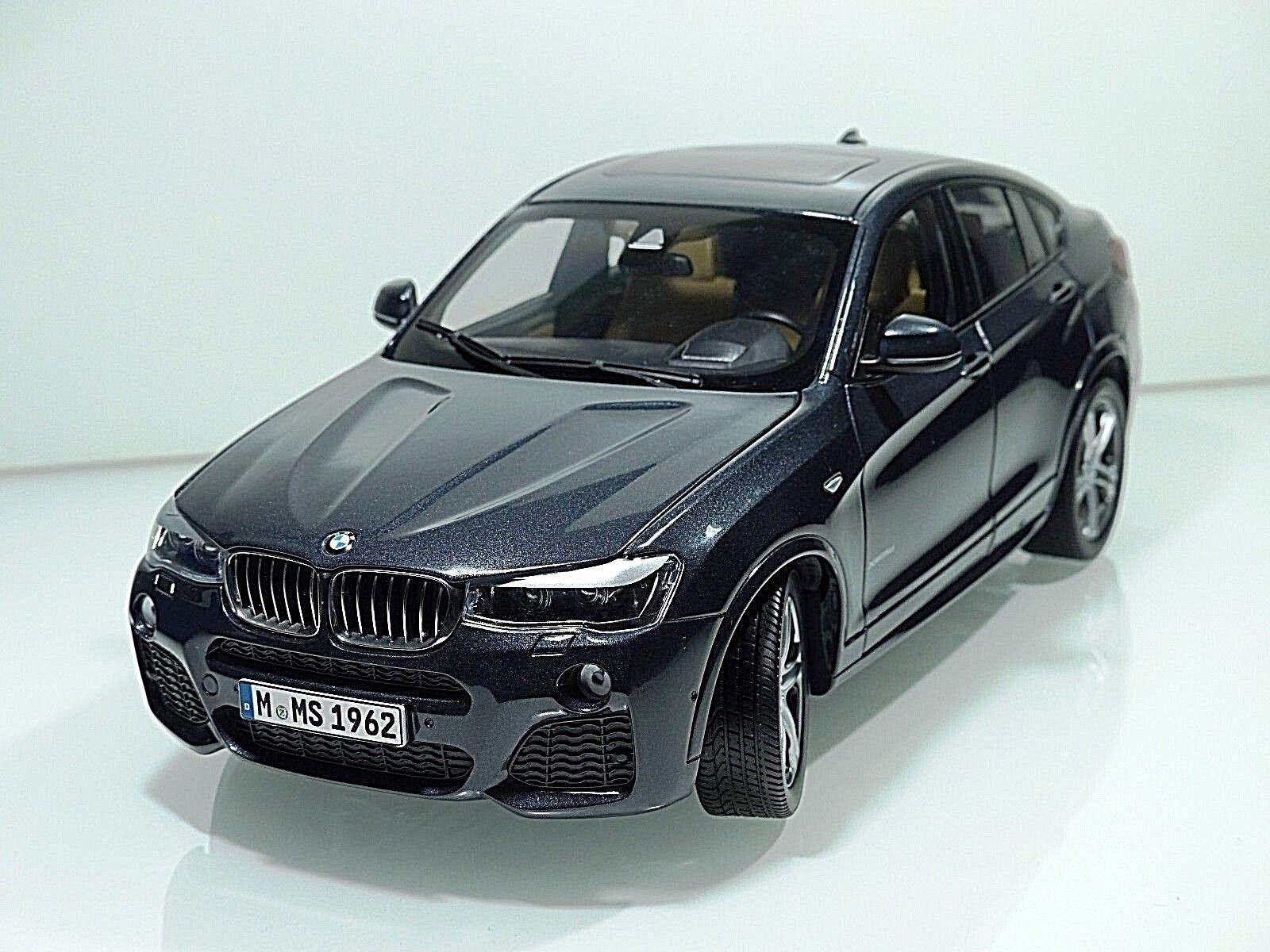 BMW X4 (F26) Baujahr 2014 sophisto grey Paragon Models 1 18