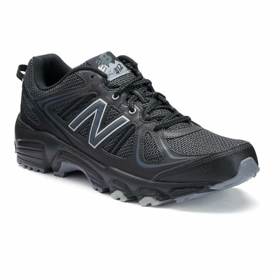 New  Mens New Balance 412 v2 Trail Running Turnschuhe schuhe - 12 wide - schwarz