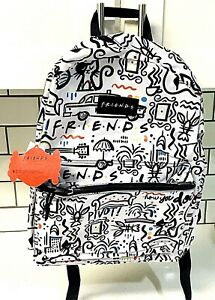 FRIENDS-Central-Perk-Printed-Back-To-School-16-034-Backpack-Friends-TV-Show