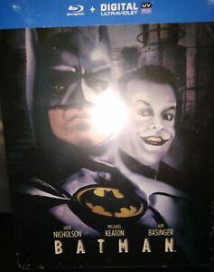 Blu-ray-Batman-1989-Steelbook-RARE-NEUF-SOUS-BLISTER