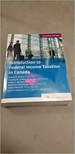 Introduction to Federal Income Taxation in Canada 40th Edition Canada Preview