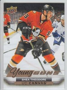 2015-16-UD-SERIES-CANVAS-SHEA-THEODORE-RC-YOUNG-GUNS-ROOKIE-YG-Upper-Deck-Knight
