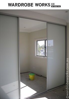 DIY Built-In Wardrobe Sliding Doors *Made to Measure* up ...