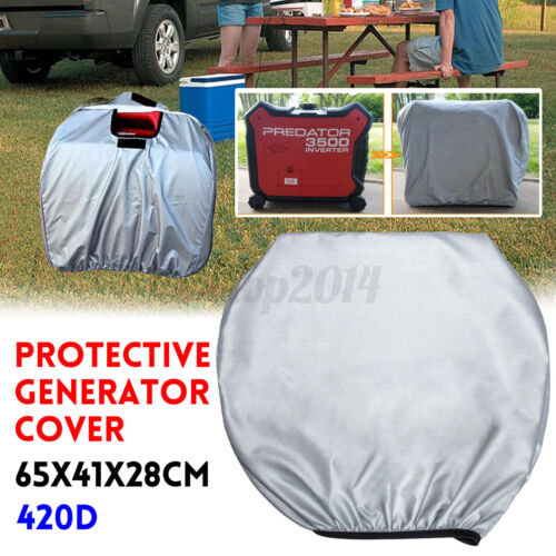 420D Oxford cloth 65x41x28cm Protective Generator Cover Acce Rainproof Dustproof