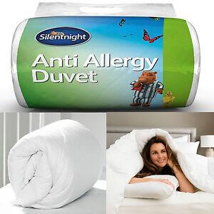 Double Duvet Quilt 10.5 Tog Silentnight Anti Allergy Double Bed Duvet Quilt