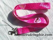 BARBIE teresa princesse TOUR COU porte clef Badge KEYCHAIN cordon MP lanière clé