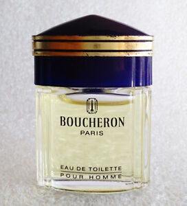 RARE-Mini-Eau-Toilette-BOUCHERON-HOMME-Miniatur-Perfume-Parfum-PARIS-5ml