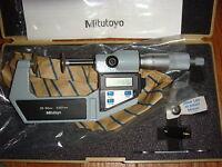 Mitutoyo Digital Flange Micrometer
