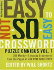 Easy to Not So Easy Crosswords by St Martin's Press (Paperback, 2007)