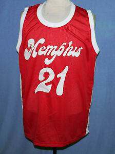 competitive price fc0c7 52e14 Details about LARRY FINCH MEMPHIS SOUNDS ABA RETRO BASKETBALL JERSEY NEW  SEWN ANY SIZE