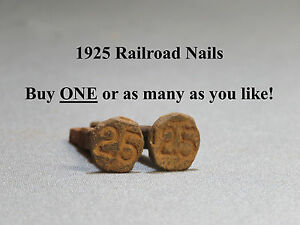 Railroad spike dating