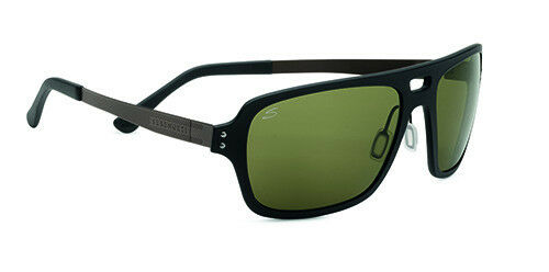 d2eed3453bb7 Serengeti Nunzio Sunglasses - Satin Black Frame and Polar PhD 555nm Lens 7837  for sale online