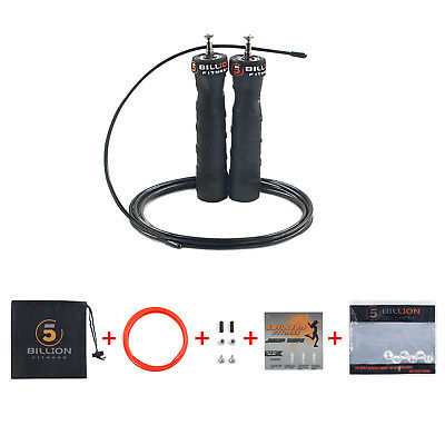 Adjustable Speed Jump Rope 3M with Ball Bearing MMA Boxing Crossfit Training