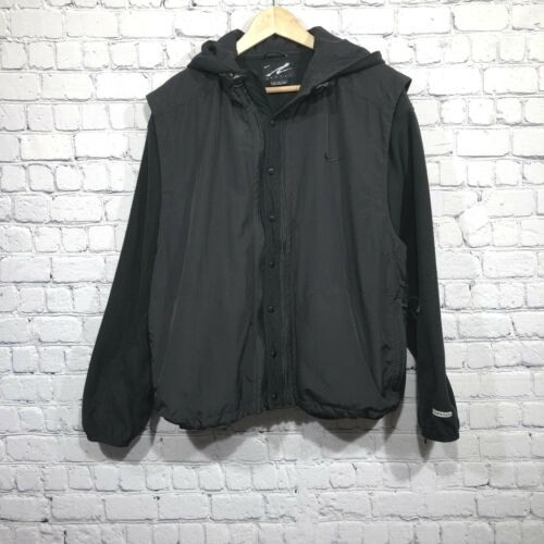Agassi o chaleco y chaqueta Andre hombre Vintage Combo negro Fit Therma tama para Nike medio 5w8nHOpqfO