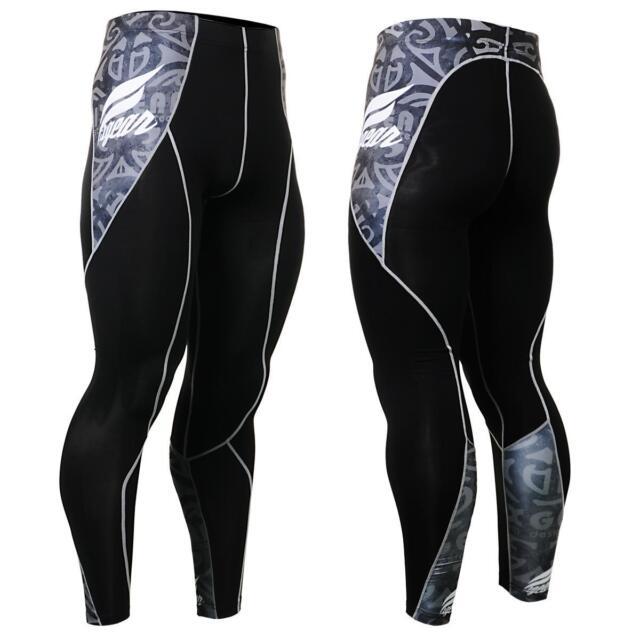 FIXGEAR P2L-B43 Compression Skin Tights Pants MMA workout fitness crossfit GYM