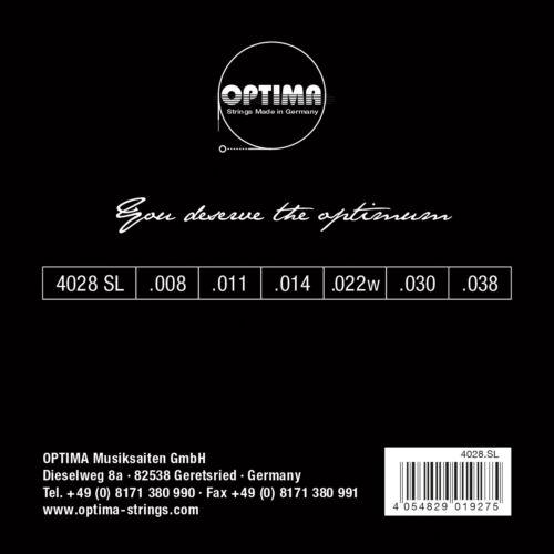OPTIMA PREMIUM CHROME STRINGS E-Gitarren Saiten SATZ E-Guitar Strings SET