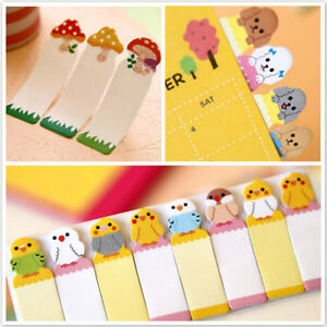Lovely-Animals-Sticker-Bookmark-Marker-Memo-Flags-Index-Tab-Sticky-Notes