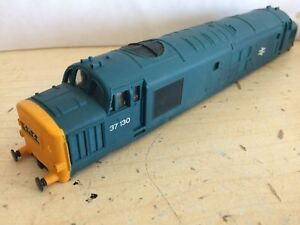 Hornby 37 130 Class 37 Rail Matt Blue Body Non Ringfield Version R751