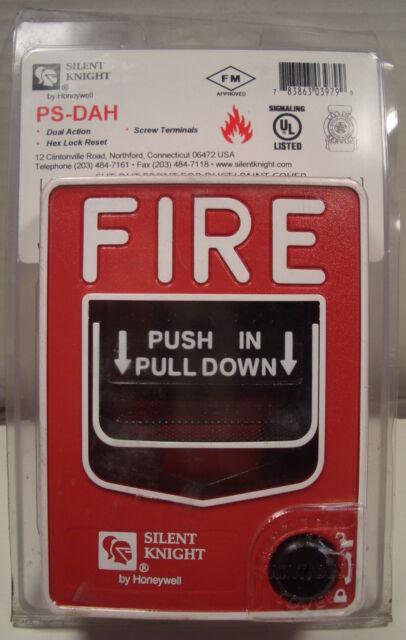 Honeywell Silent Knight Ps Dah Fire Alarm Manual Pull Station