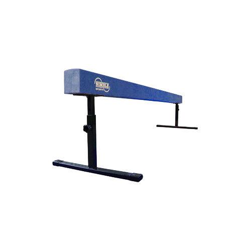 New Nimble  Sports blueee Suede Adjustable Height Gymnastics Balance Beam  save up to 70% discount