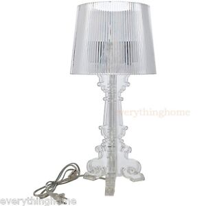 CLEAR-ACRYLIC-TABLE-LAMP-FRENCH-BAROQUE-OLD-WORLD-STYLE-PETIT-MODERN-20-034-TALL
