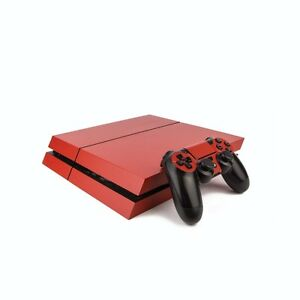 Video Game Accessories Ps4 Playstation 4 Bunte Vinyl Einband Video Games & Consoles Matt Rot/playstation 4 Ps4 Hülle St Nourishing The Kidneys Relieving Rheumatism